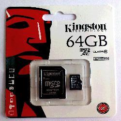 MICROSD 64GB CL10